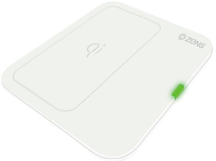 Single Wireless Charger (EU) white Caricabatterie Zens 798602600000 N. figura 1
