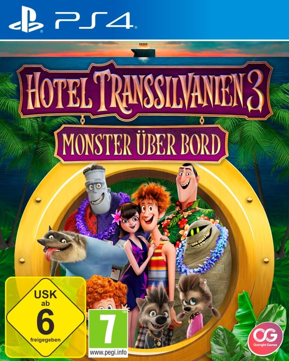 PS4 - Hotel Transsilvanien 3 - Monster über Bord (D) Fisico (Box) 785300135569 N. figura 1