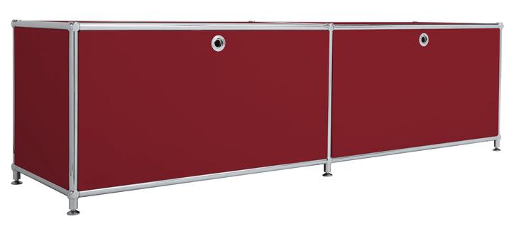 FLEXCUBE Lowboard 401808800030 Grösse B: 152.0 cm x T: 40.0 cm x H: 43.0 cm Farbe Rot Bild Nr. 1