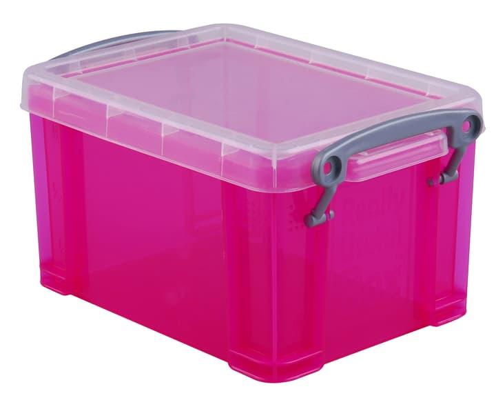 Boîte de plastique 0.3L Really Useful Box 603730600000 Taille L: 12.0 cm x L: 8.5 cm x H: 6.5 cm Couleur Rose vif Photo no. 1