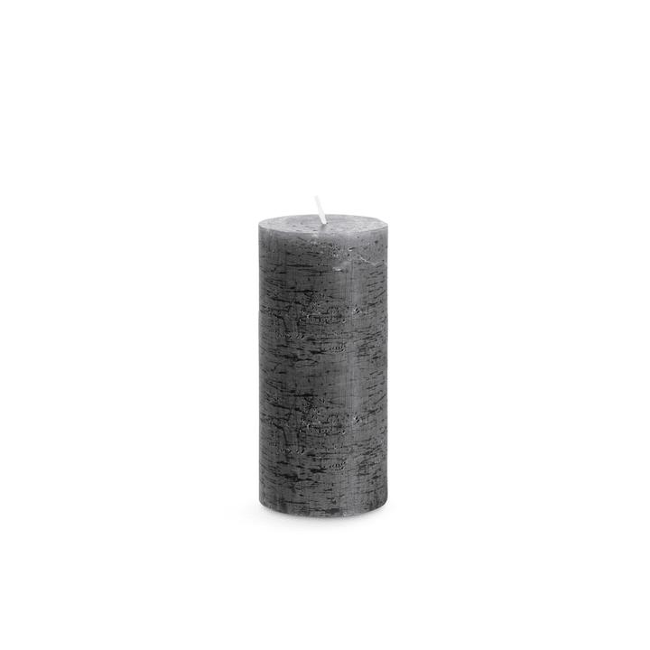 RUSTIC Kerze 396003500000 Farbe Dunkelgrau Grösse B: 7.0 cm x T: 7.0 cm x H: 15.0 cm Bild Nr. 1