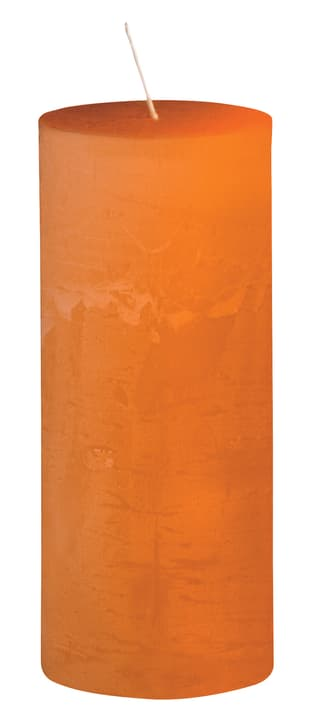 BAL Bougie cylindrique 440582901034 Couleur Orange Dimensions H: 14.0 cm Photo no. 1