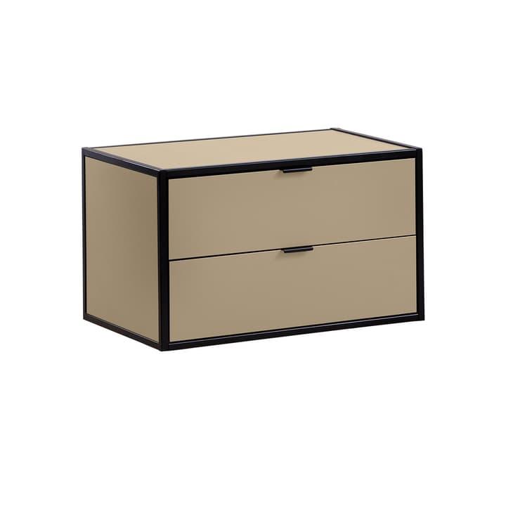 SEVEN Schublade mit Abdeckung Edition Interio 360984900000 Grösse B: 60.0 cm x T: 38.0 cm x H: 35.0 cm Farbe Braun Bild Nr. 1