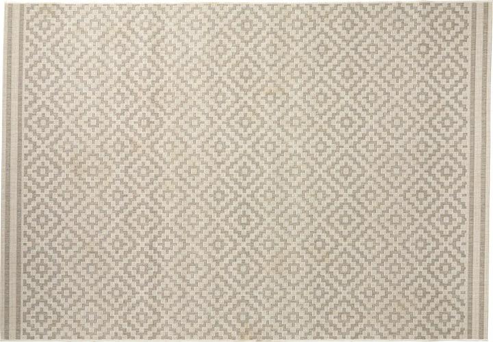 NATANIEL Tappeto 412013708081 Colore grigio chiaro Dimensioni L: 80.0 cm x P: 150.0 cm N. figura 1