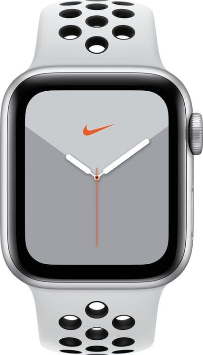 Watch Nike Series 5 LTE 40mm silver Aluminium Platinum Black Nike Sport Band Smartwatch Apple 785300146963 Photo no. 1