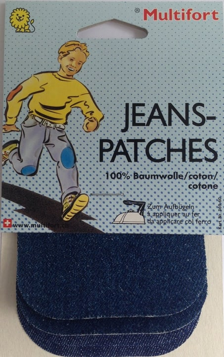 Jeans-Patches 75x95mm 4 Stk. Multifort 665420500000 Bild Nr. 1