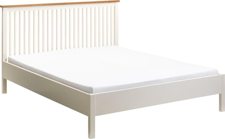 BELLE Lit 404452700000 Couleur Blanc Dimensions L: 140.0 cm x P: 200.0 cm Photo no. 1