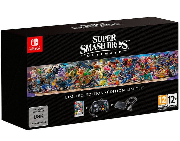 NSW - Super Smash Bros. Ultimate Limited Edition Box 785300138218 Photo no. 1