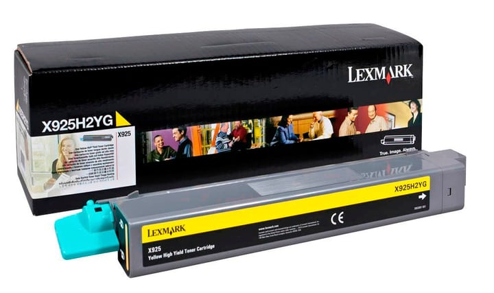 Toner X925H2YG Yellow Lexmark 785300126686 Photo no. 1