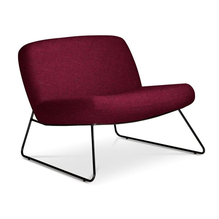 GIORGIO Sessel 360064021905 Grösse B: 80.0 cm x T: 78.0 cm x H: 67.0 cm Farbe Bordeaux Bild Nr. 1