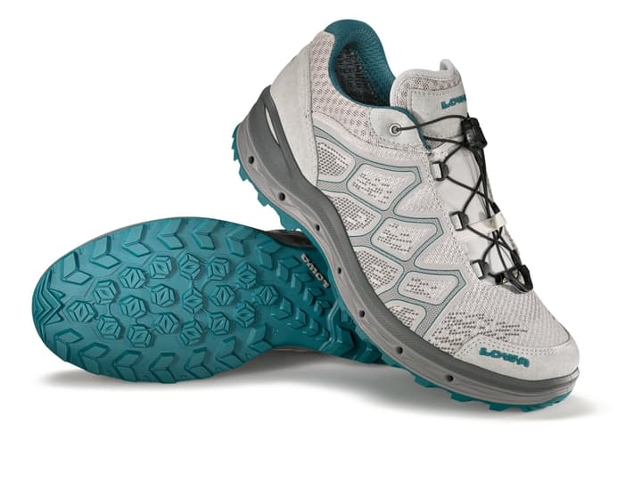 Aerox GTX Lo Chaussures polyvalentes pour femme Lowa 460873043580 Couleur gris Taille 43.5 Photo no. 1