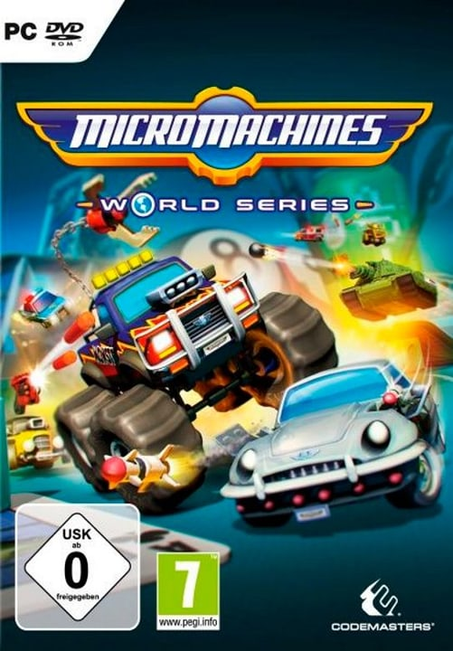 PC - Micro Machines World Series 785300122325 Photo no. 1