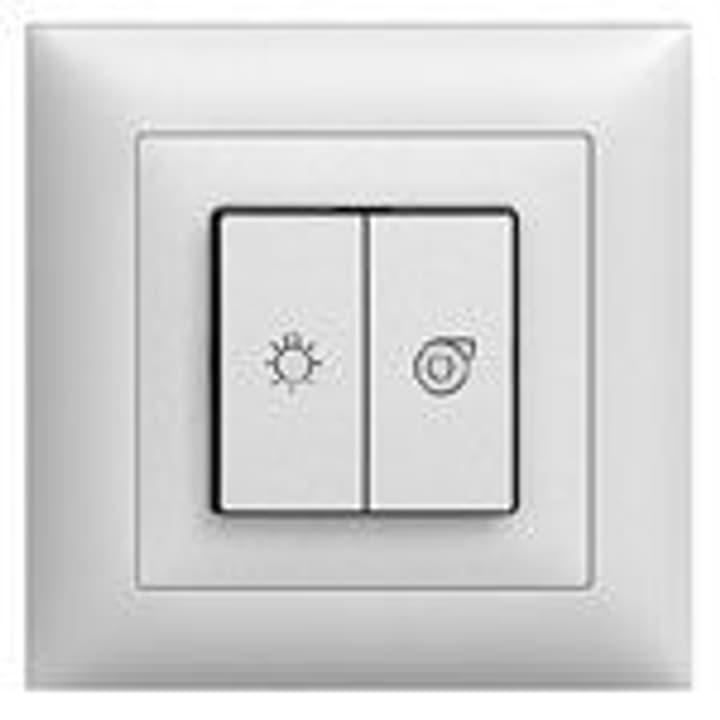 Feller UP Schalter Licht und Ventilator Edizio Due   Ersatzteile ...