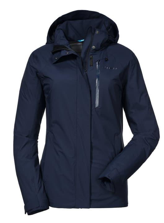 ZipIn! Jacket Alyeska1 Damen-Trekkingjacke Schöffel 462789204022 Farbe dunkelblau Grösse 40 Bild-Nr. 1