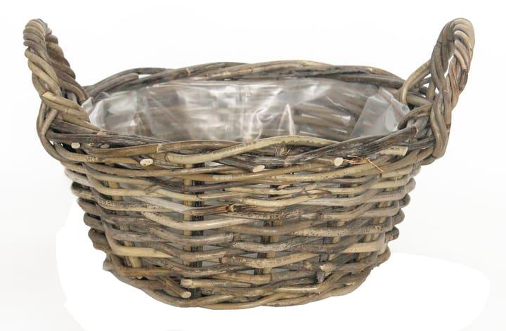 Vaschetta per piante Do it + Garden 659644600000 Taglio ø: 35.0 cm Colore Grigio N. figura 1