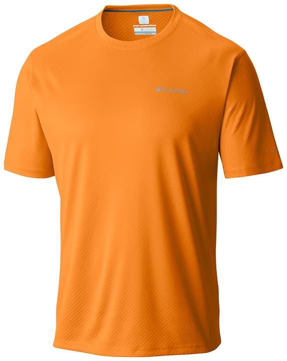 Zero Rules Maillot à manches courtes pour homme Columbia 462774400334 Couleur orange Taille S Photo no. 1