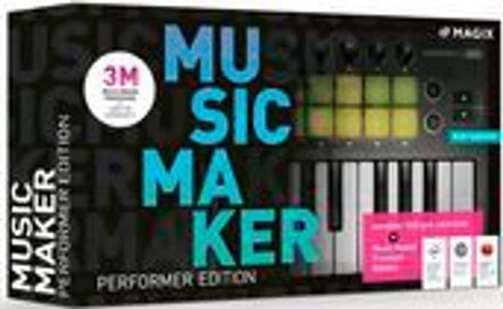 Music Maker Performer Edition 2020 [PC] (D) Physisch (Box) Magix 785300146276 Photo no. 1