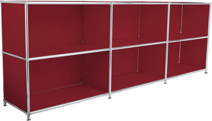 FLEXCUBE Buffet 401809500030 Dimensioni L: 227.0 cm x P: 40.0 cm x A: 80.5 cm Colore Rosso N. figura 1