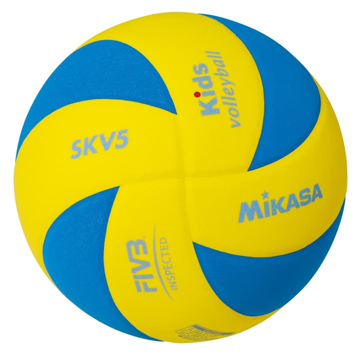 SK5%-YBL Kinder Volleyball Mikasa 461945700593 Farbe farbig Grösse 5 Bild-Nr. 1