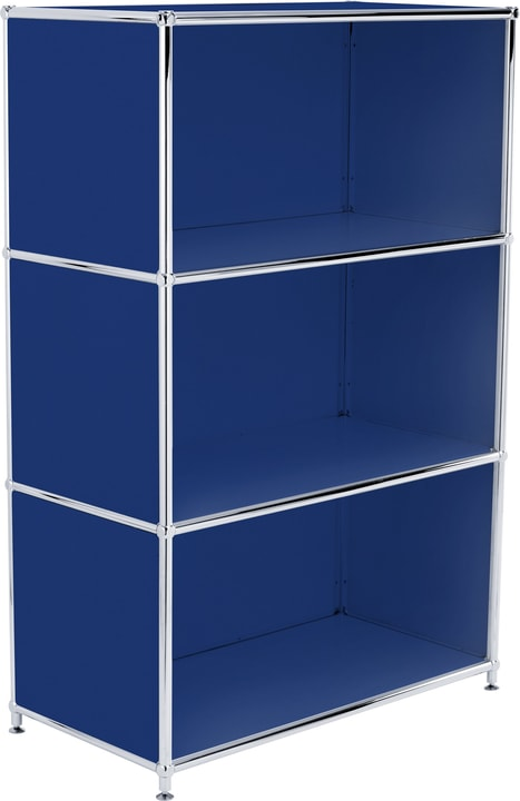 FLEXCUBE Buffet haut 401808600040 Dimensions L: 77.0 cm x P: 40.0 cm x H: 118.0 cm Couleur Bleu Photo no. 1