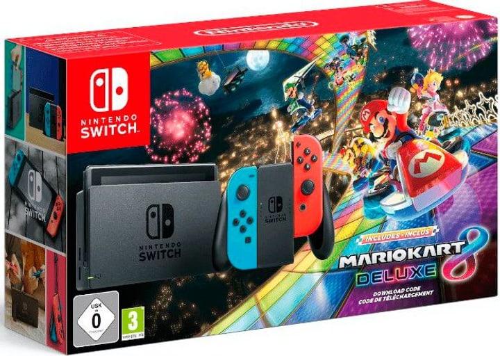 Switch Bundle inkl. Mario Kart 8 Deluxe (vorinstalliert) Spielkonsole Nintendo 785441800000 Bild Nr. 1