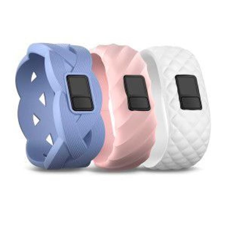Vivofit 3 bracelet bleu, rose vif, blanc Garmin 785300125494 Photo no. 1