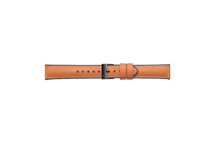Galaxy Watch (42 mm) Strap Studio Urban Traveller 20 mm marrone Cinturini Samsung 785300138363 N. figura 1