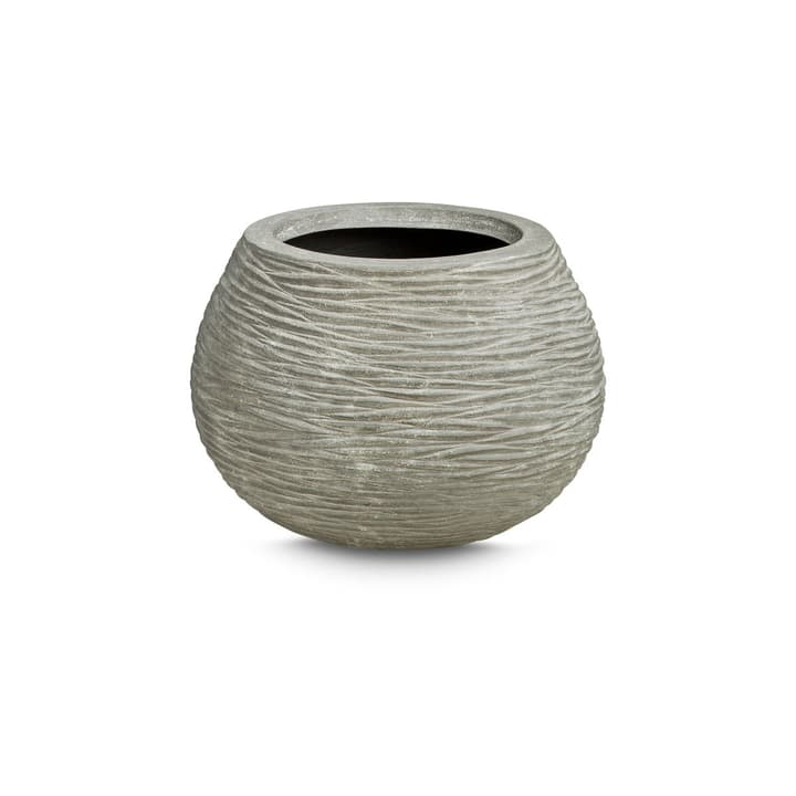 WAVY Cache-pot 382073800000 Dimensions L: 45.0 cm x P: 45.0 cm x H: 33.0 cm Couleur Gris Photo no. 1
