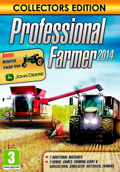 PC - Professional Farmer 2014 Collector's Edition Download (ESD) 785300133902 N. figura 1