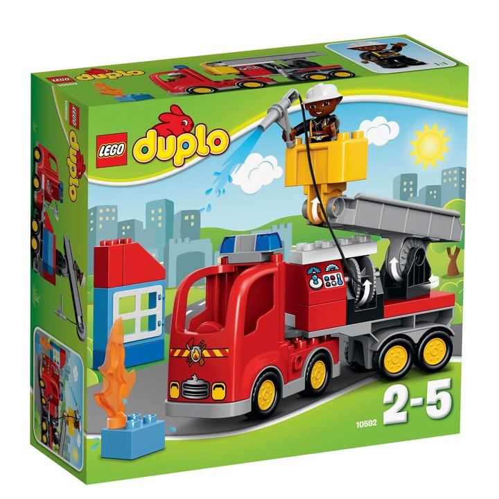 LEGO DUPLO Le camion de pompiers 10592 747878200000 Photo no. 1