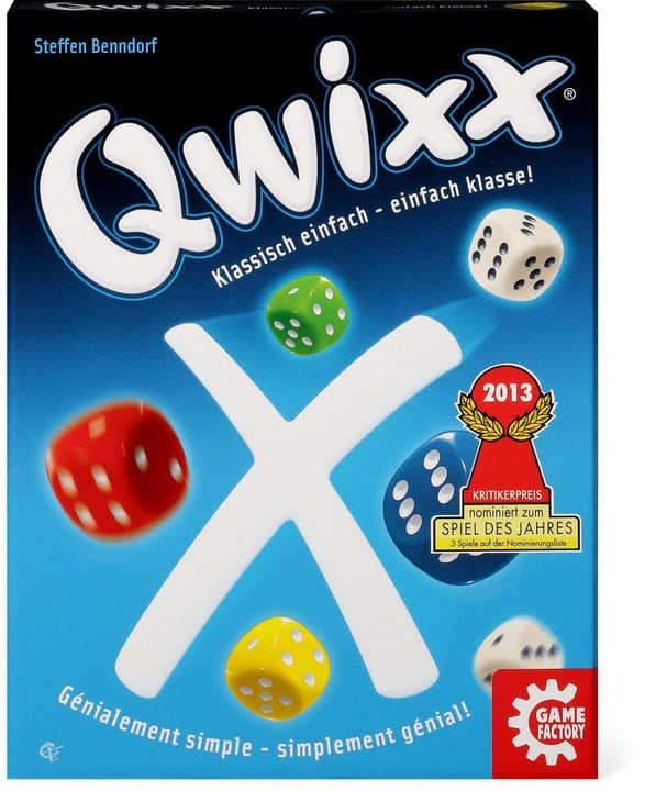 Game Factory Qwixx 746976300000 Bild Nr. 1