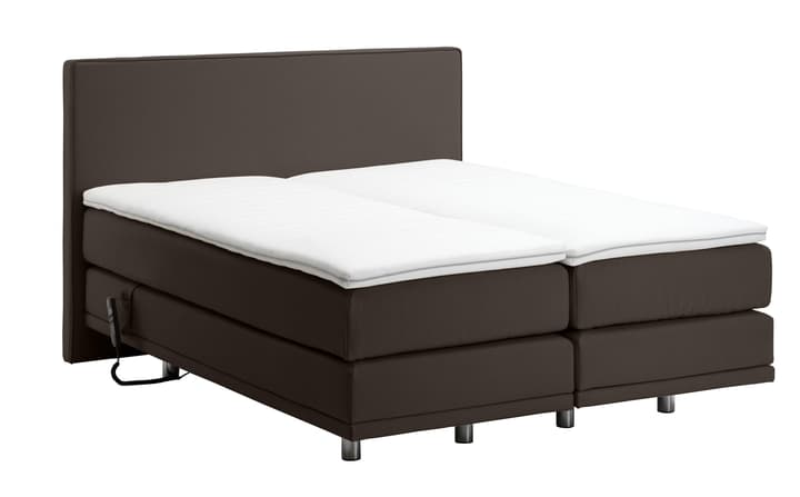 NAVIER Lit Boxspring 403459700000 Couleur poivre Dimensions L: 160.0 cm x P: 200.0 cm Photo no. 1
