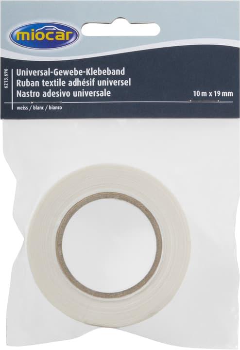 Ruban textile adhésif blanc Miocar 621369600000 Couleur Blanc Photo no. 1