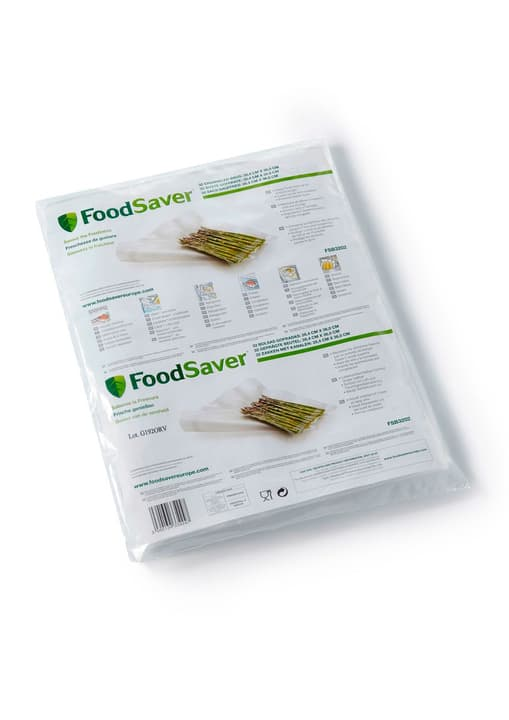 32 sachets: 28.4 x 36 cm Sachets FoodSaver 785300124160 Photo no. 1