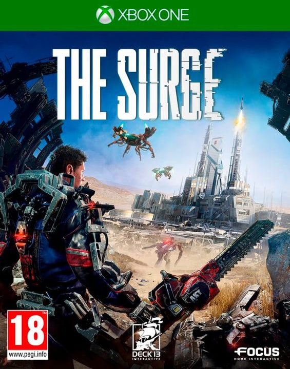Xbox One - The Surge Box 785300122115 Photo no. 1