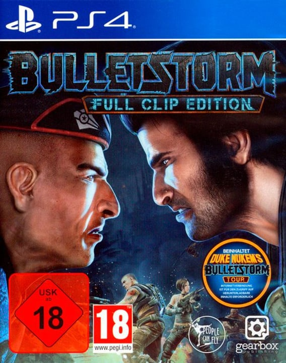 PS4 - Bulletstorm Full Clip Edition Box 785300122610 N. figura 1