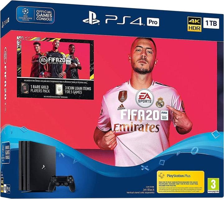PlayStation 4 Pro 1TB + FIFA 20 Konsole Sony 785444100000 Bild Nr. 1