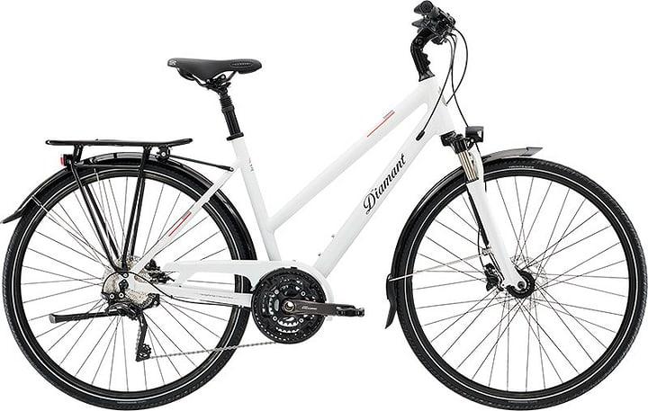 Ubari Super Deluxe Trekkingbike Diamant 464811604510 Rahmengrösse 45 Farbe weiss Bild-Nr. 1