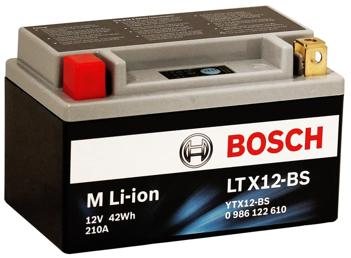 Motorradbatterie Li-ion 42 Wh LTX12-BS Bosch 620473500000 Bild Nr. 1