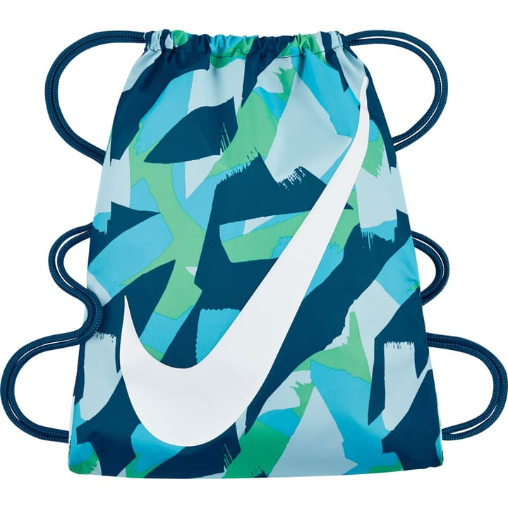 Kids' Nike Graphic Gym Sack Sac de gym Nike 462881800065 Couleur petrol Taille one size Photo no. 1