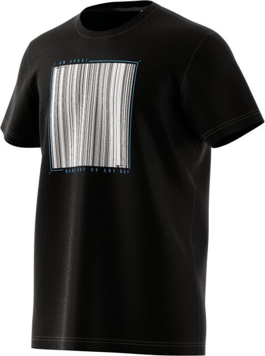 Barcode Tee Herren-T-Shirt Adidas 462377600320 Farbe schwarz Grösse S Bild-Nr. 1
