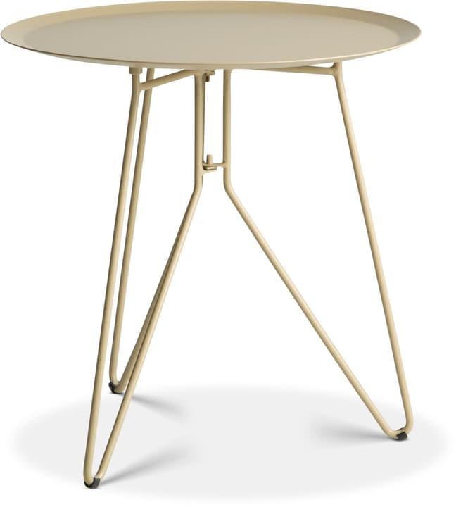 EMMA Table d'appoint Ø 40cm 362088100000 Dimensions H: 40.0 cm Couleur Sable Photo no. 1