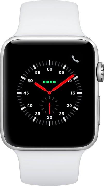 Watch Series3 GPS+Cellular 38mm Silver Aluminium Case White Sport Band Smartwatch Apple 785300139120 Bild Nr. 1