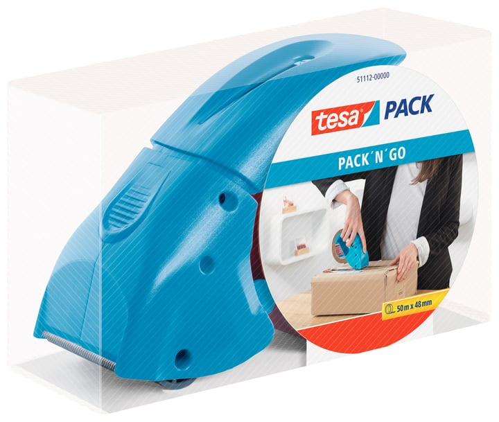 Pack Dispenser Pack'n'go bleu Tesa 663077700000 Photo no. 1