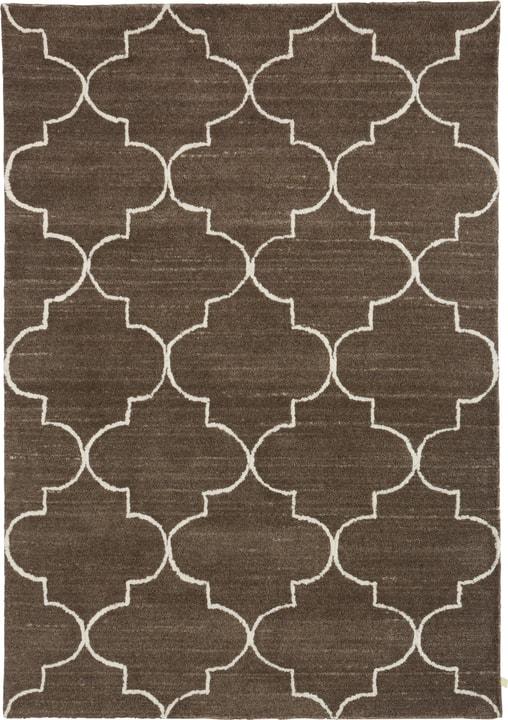 NOE Tapis 412012412070 Couleur brun Dimensions L: 120.0 cm x P: 170.0 cm Photo no. 1