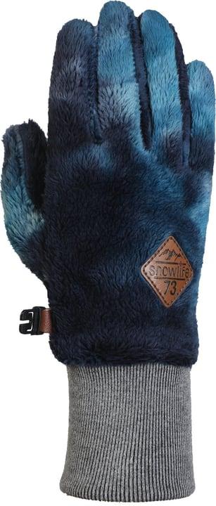 Chill Gants en polaire pour femme Snowlife 464413407522 Couleur bleu foncé Taille 7.5 Photo no. 1