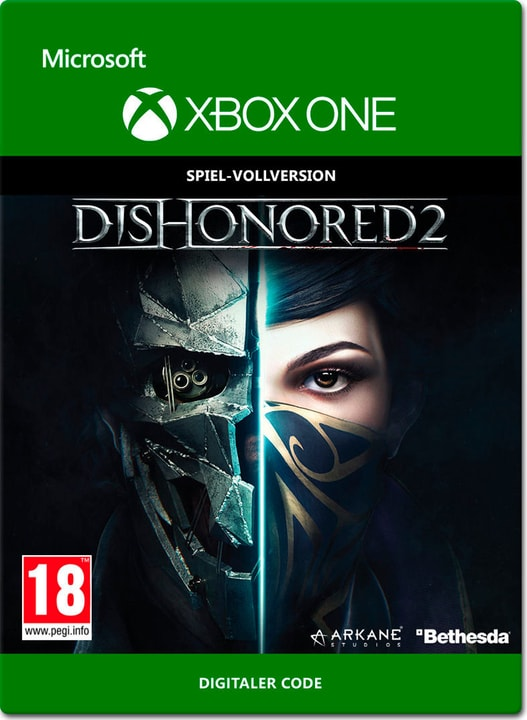 Xbox One - Dishonored 2 Digital (ESD) 785300137316 N. figura 1