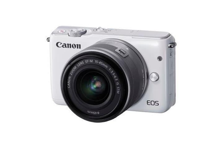 EOS M10 Kit, 15-45mm IS STM Appareil photo système blanc Canon 785300123631 Photo no. 1