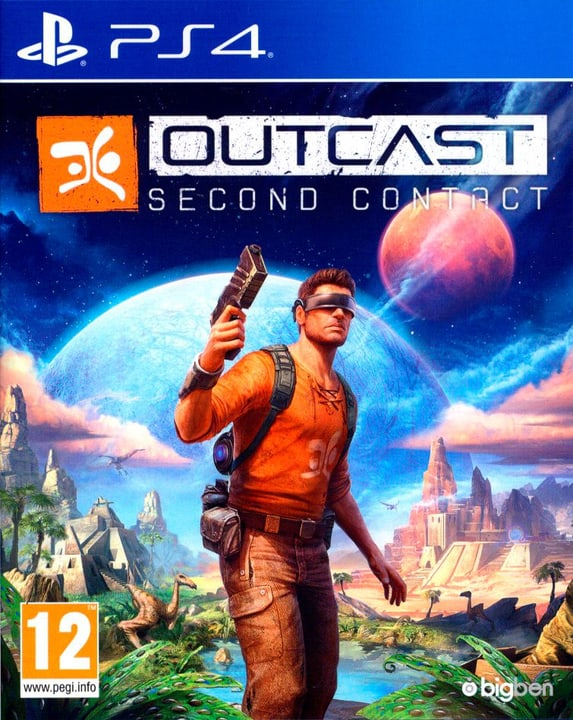PS4 - Outcast - Second Contact Physisch (Box) 785300128652 Bild Nr. 1