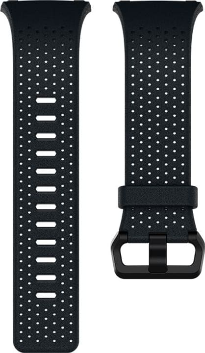 Ionic Bracelet en cuir perforé  Bleu / Nuit Fitbit 785300131154 Photo no. 1